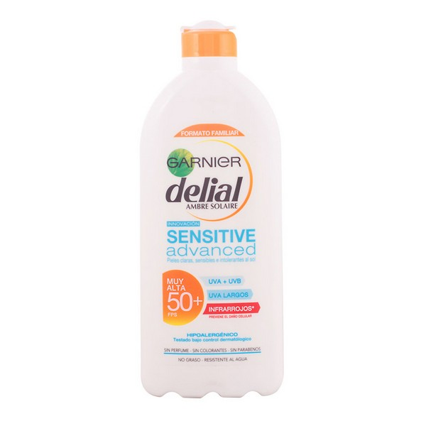 Mléko na opalování Sensitive Advanced Delial Spf 50 - Spf 50 - 200 ml