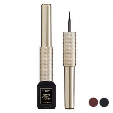 Eyeliner Matte Signature L'Oreal Make Up - 03-marron