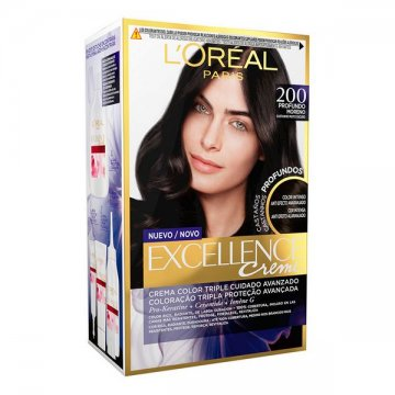 Trvalá barva Excellence Brunette L'Oreal Expert Professionnel - 200 - true darkest brown