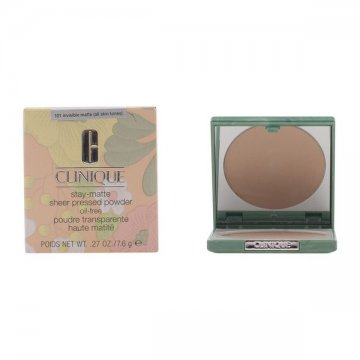 Compact Powders Stay Matte Clinique - 04 - stay honey 7,6 g
