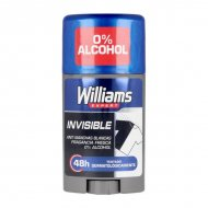 tuhý deodorant Invisible Williams (75 ml)