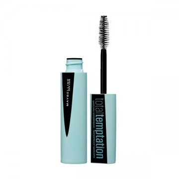 Mascara Total Temptation Waterproof Maybelline (9,4 ml)