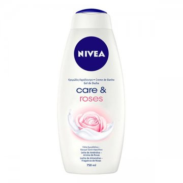 Sprchový gel Care & Roses Nivea (750 ml)