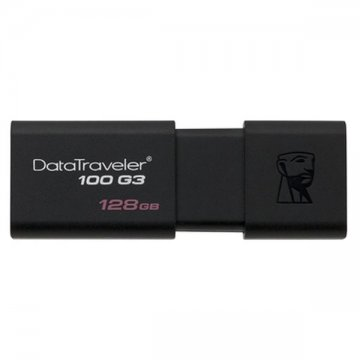 USB flash disk Kingston DT100G3 128 GB Černý